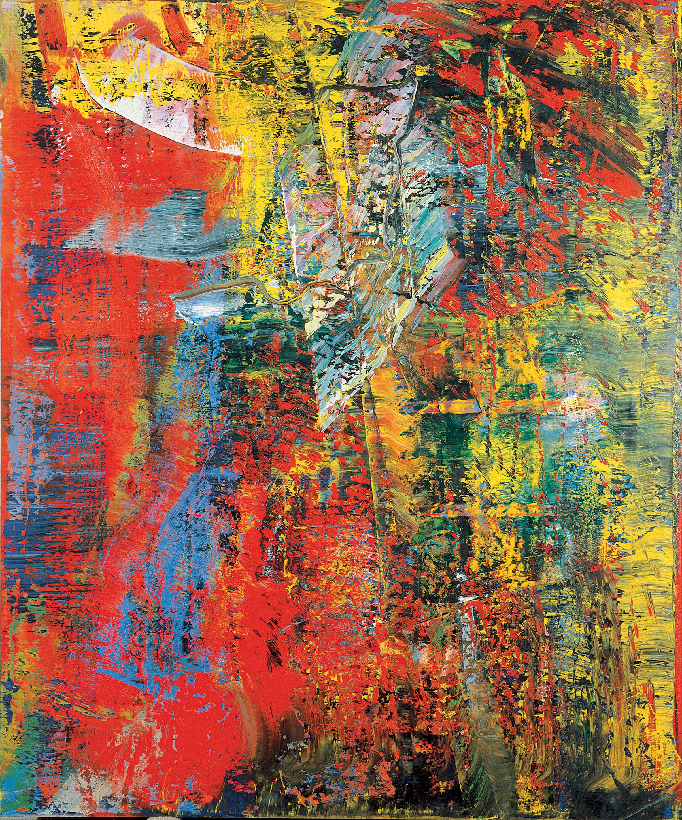 Bild Modern Art 1000 43 Images About Gerhard Richter Abstract