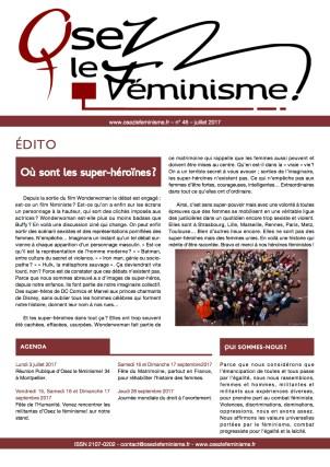 Journal 46 d'Osez le féminisme !