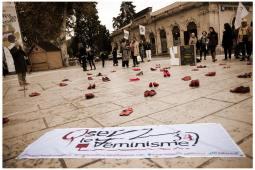 OLF 34 : Campagne Reconnaissons le féminicide à Montpellier