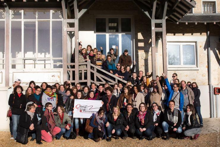 Photo groupe féministcamp