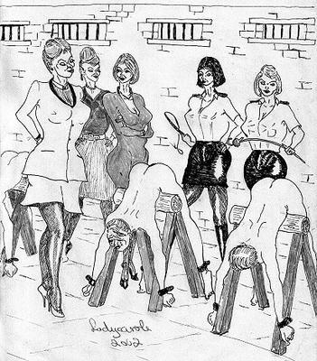 femdom male torture art