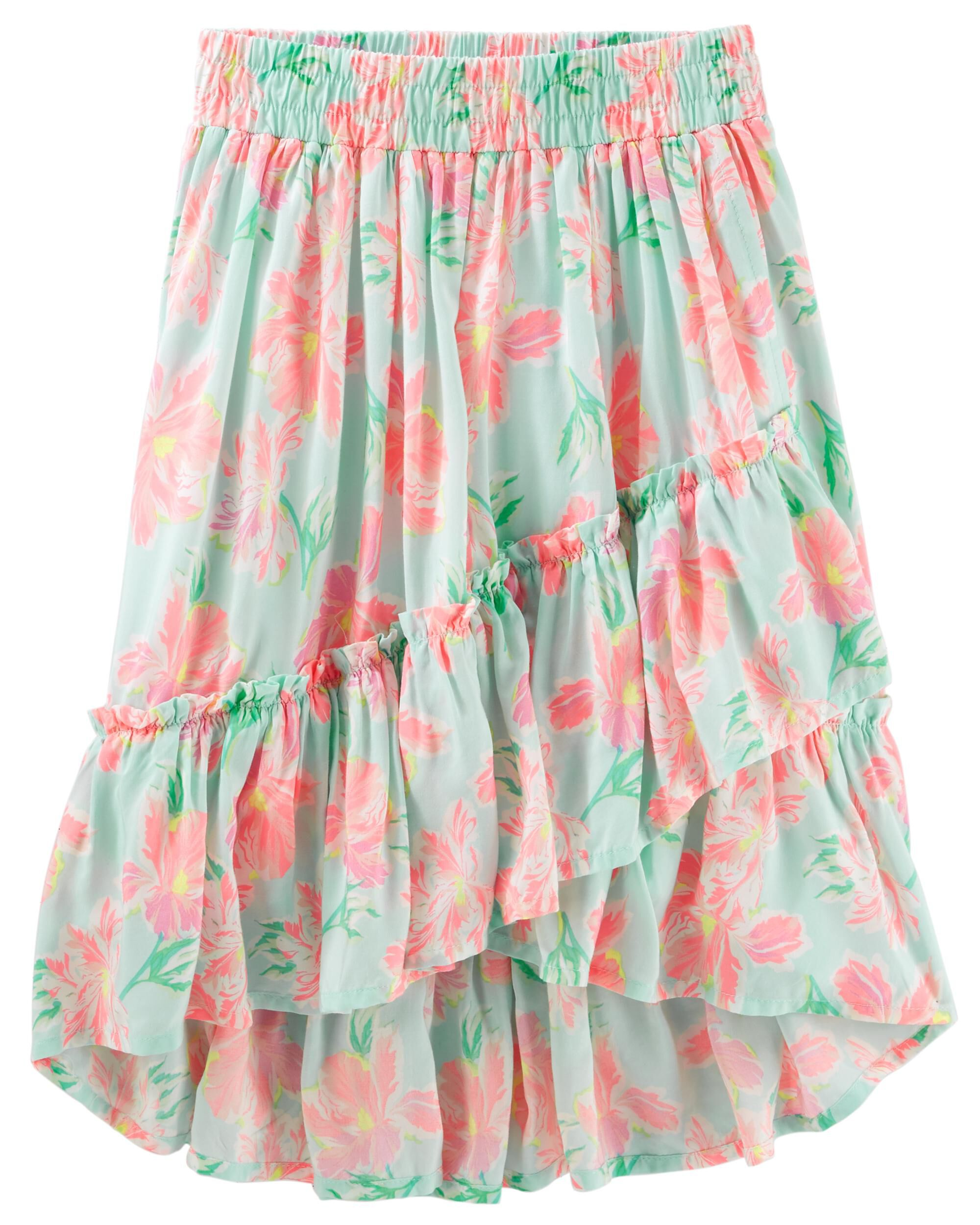 Maxi Baby Name Floral Maxi Skirt Oshkosh
