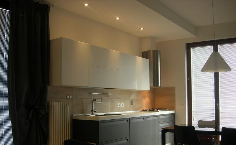 Soggiorno Cucina Moderne | Quadro Moderno Dipinto A Mano Con ...