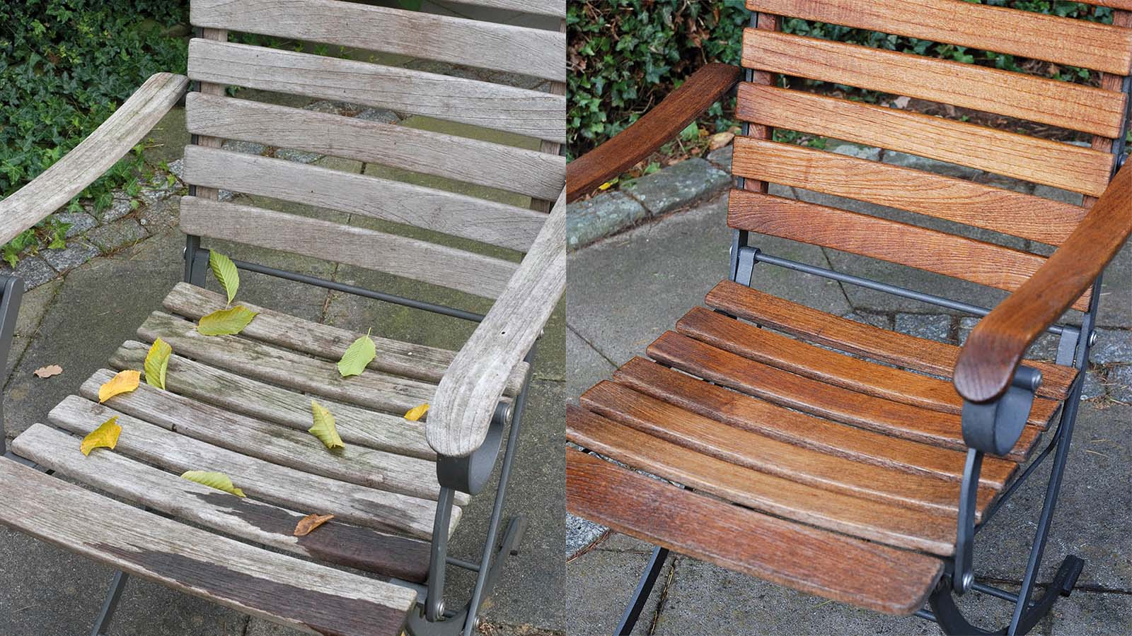 Renovate Wooden Garden Furniture With The Osmo Garden Maintenance Kit Osmo Uk