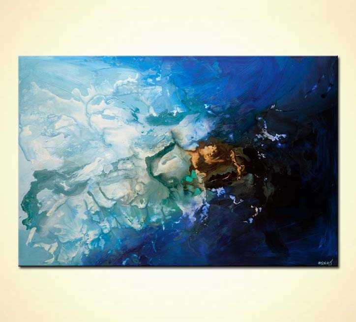Contemporary Abstract Painting Painting For Sale Contemporary Blue Abstract Art Blue Painting 7924