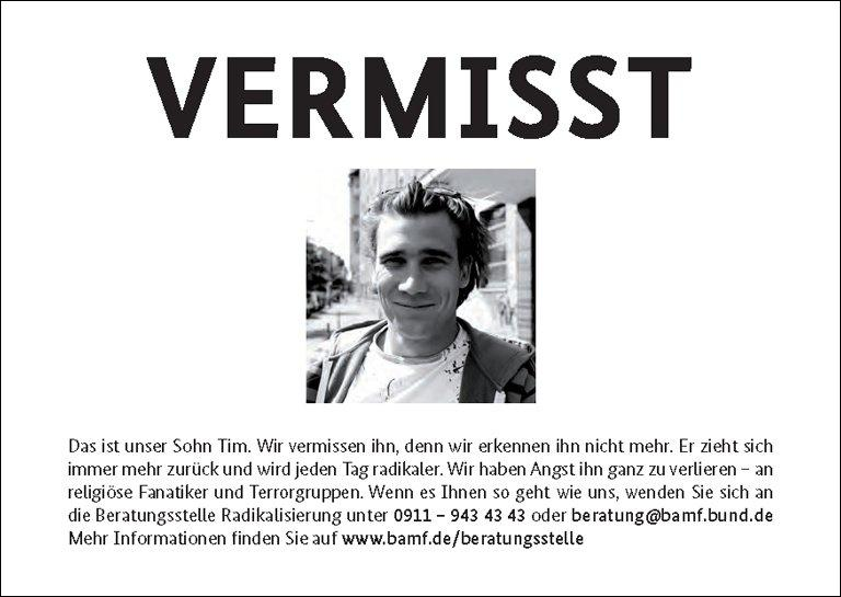 Vermisst / Missing - Osocio - missing person posters