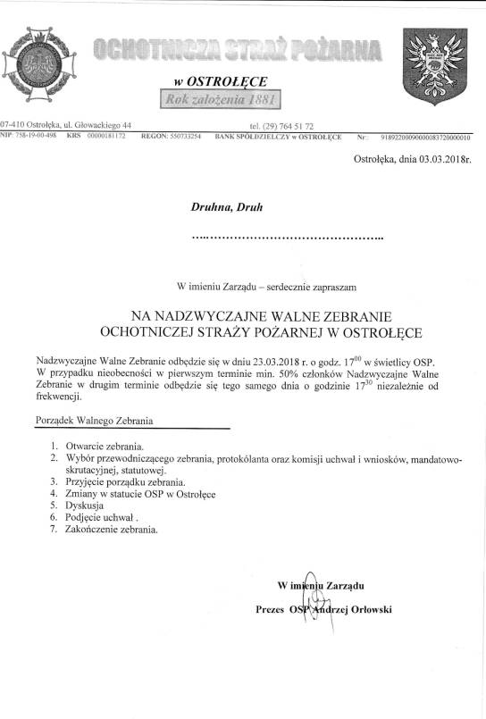 ZAPROSZENIE OSP_ NADZYWCZAJNE WALNE ZEBRANIE-1