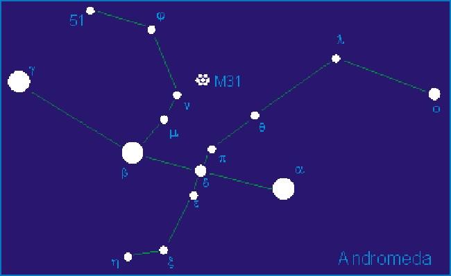 Find Andromeda This Autumn Online Star Register