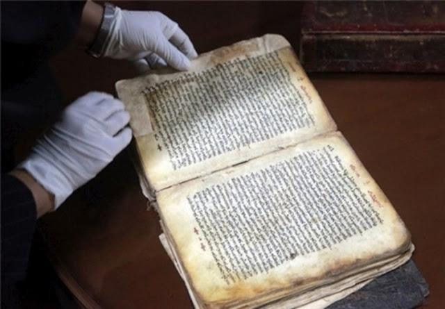 Biblioteca iraniana guarda um dos mais antigos manuscritos da Bíblia