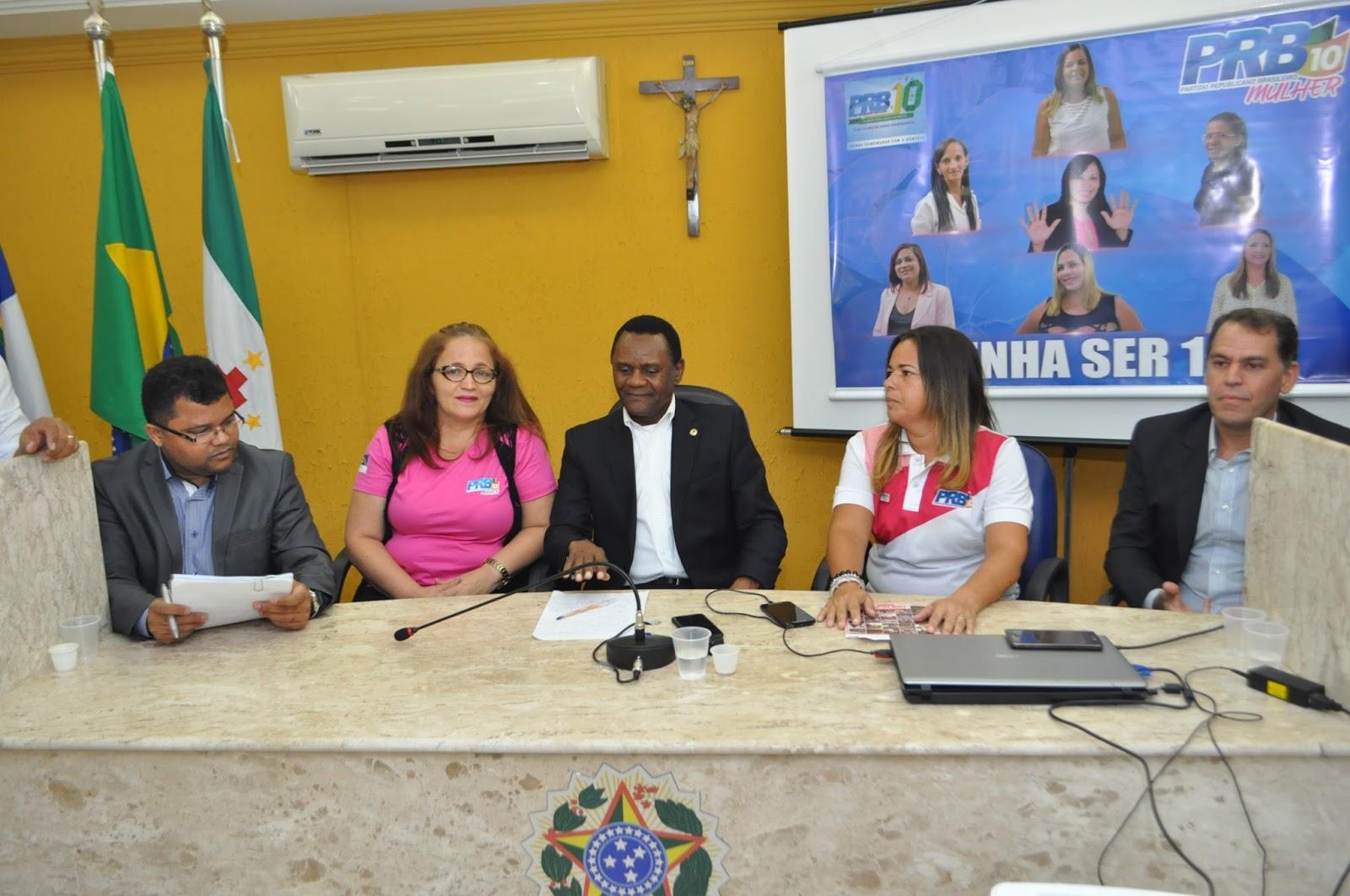 PRB Mulher toma posse em São Lourenço da Mata