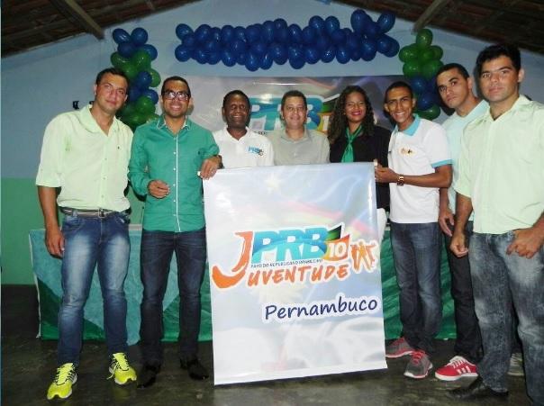 Empossada nova coordenação do PRB Juventude de Casinhas