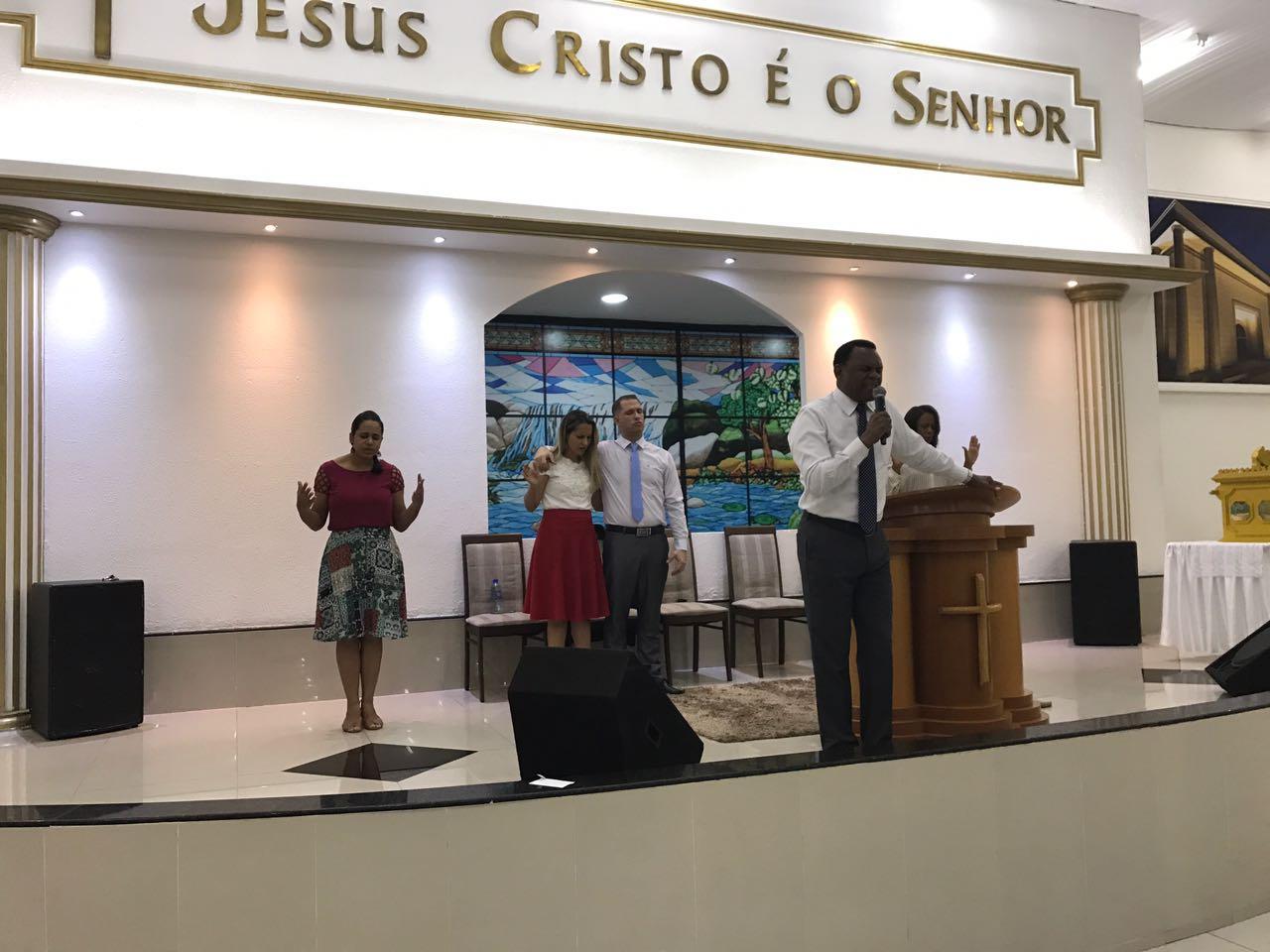 Bispo Ossesio participa de Concentração em Camaragibe
