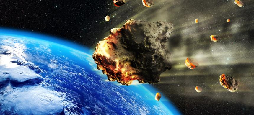 Mais de 1 milhão de asteroides podem colidir com a Terra