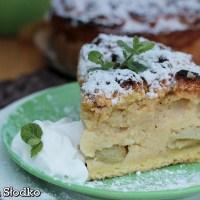 Ciasto z kaszy manny z owocami
