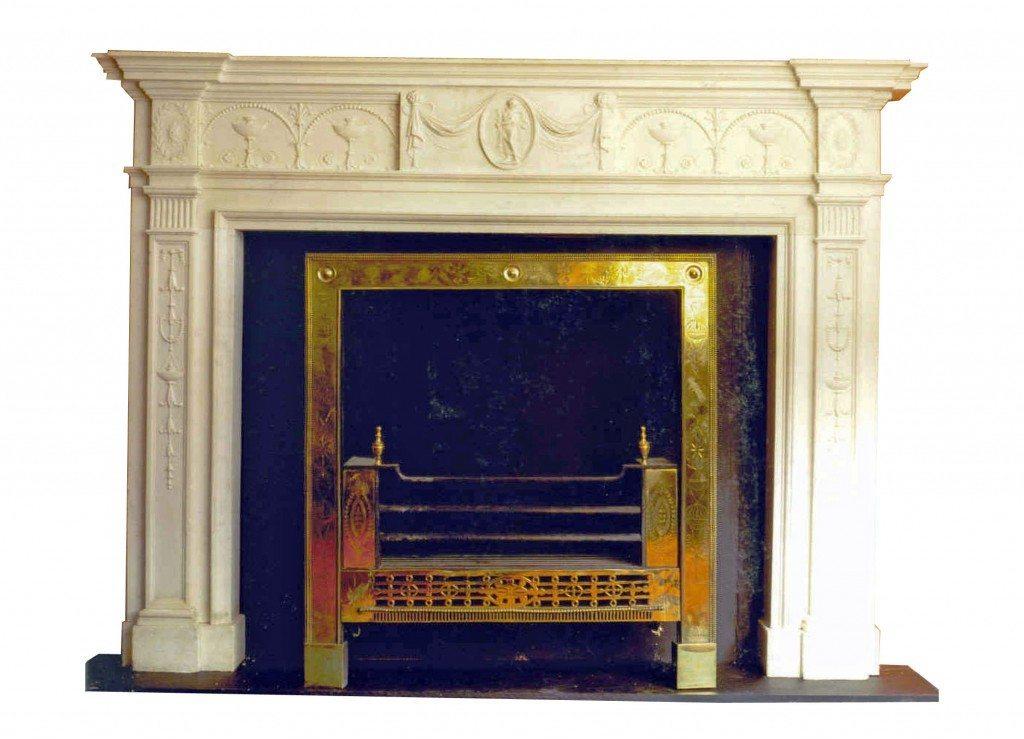 18th Century Adam Fire Surround O39sullivan Antiques