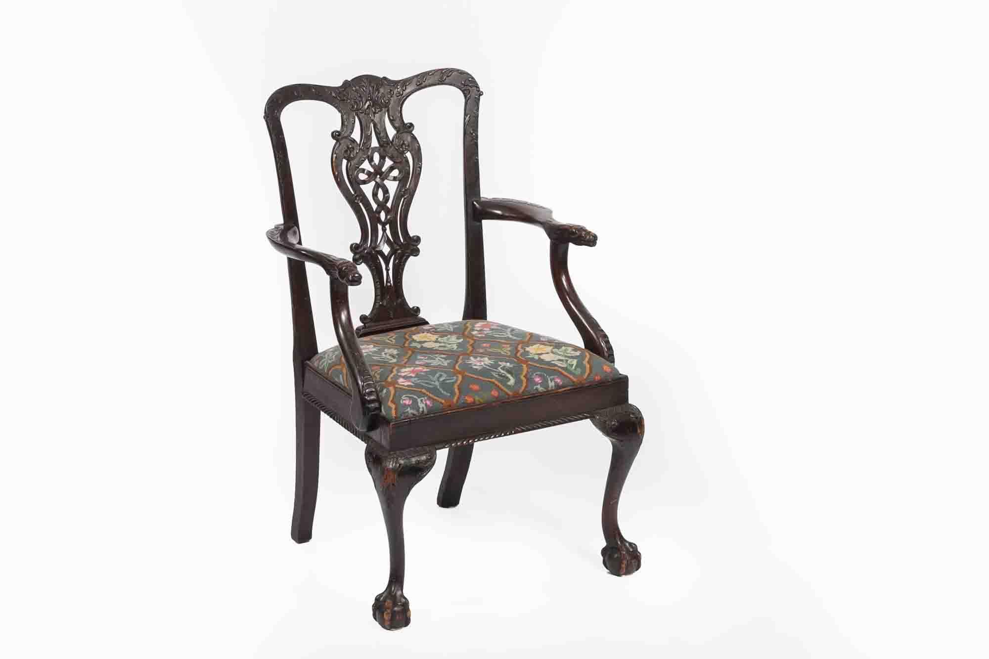 9341 19th Century Single Side Chair O39sullivan Antiques