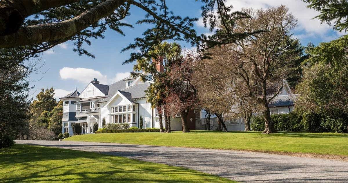 Relais Et Chateaux Otahuna Lodge Is Affiliated With Relais Chateaux Lodgesofnz Co Nz