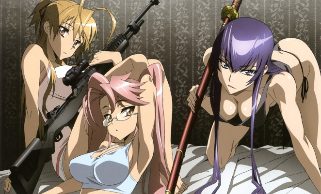 Rei-Saya-Saeko-highschool-of-the-dead