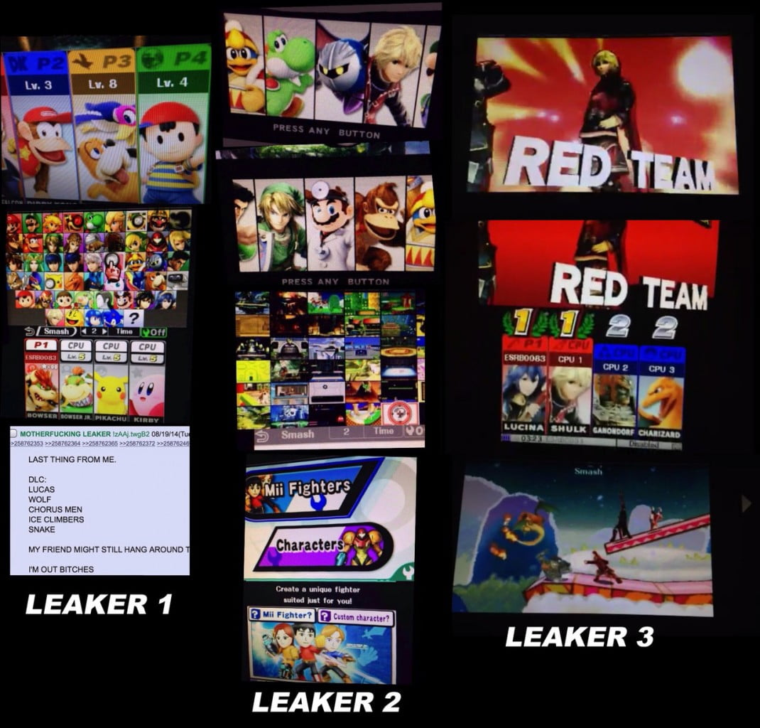 Super Smash Bros Wii U/3DS - Page 8 Leakers