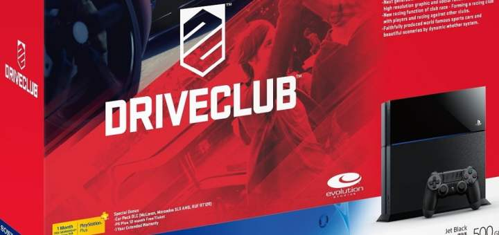 Le Bundle PS4 + DriveClub + Fifa 15 à 449¤ !
