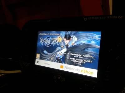 "Et ma Wii U qui me rappelle""H� Oh ! N'oublie pas Bayonetta 2 !"""