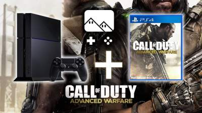 Promo : la PS4 +Call of Duty : Advanced Warfare - édition limitée atlas à 419¤99 !