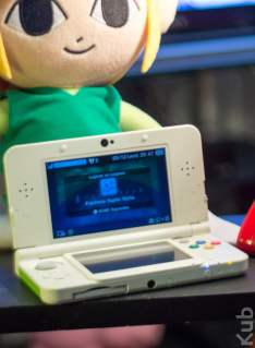 New 3DS accueillie par Link Cartoon