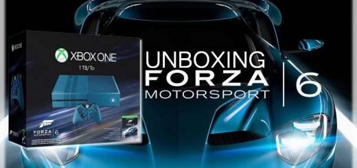 Chronique : l'unboxing de la Xbox One édition collector Forza