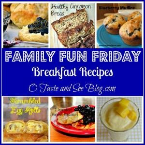 breakfast recipes family fun friday