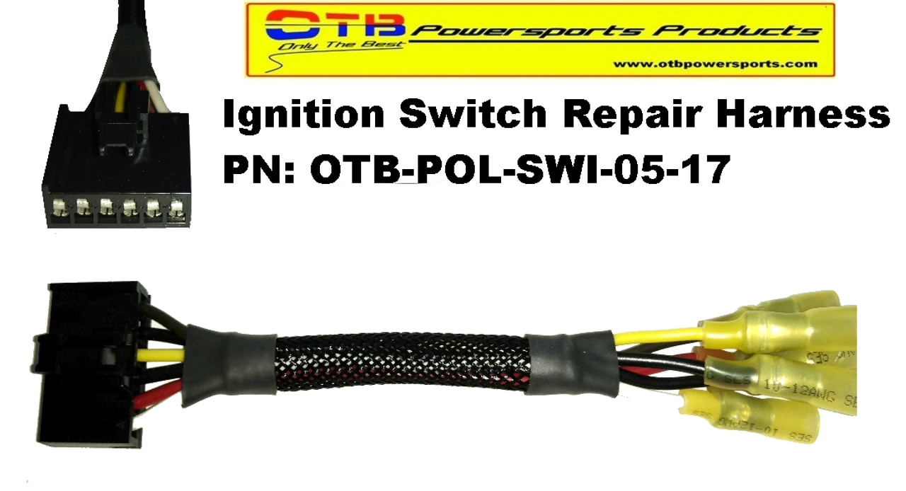 Ignition Switch Repair Harness OTB Powersports Products