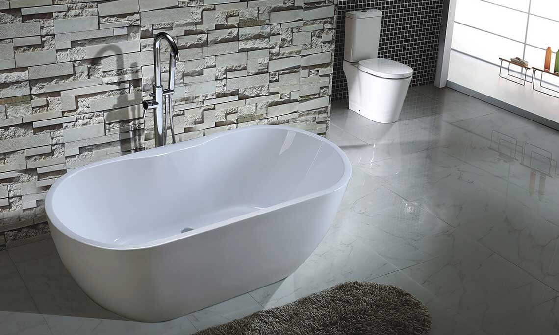 Roll In Shower Shop Freestanding Bath Tub Online & Save Up To 45% Off!