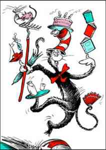 "Dr. Seuss ""The Cat in the Hat"""