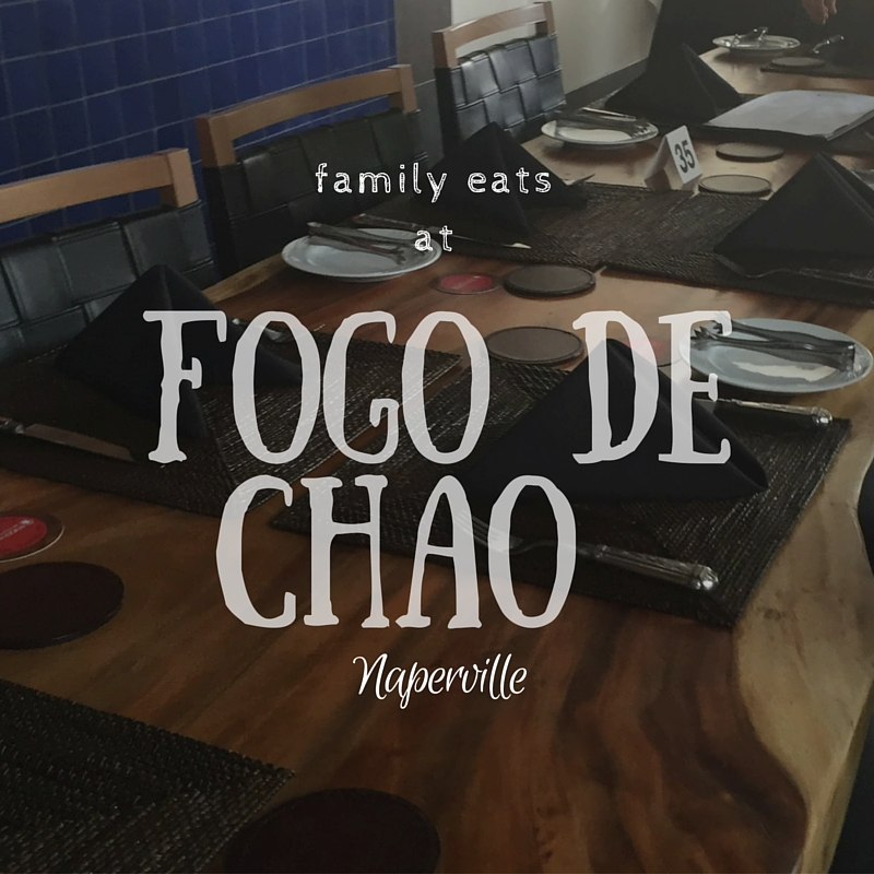 Family-Friendly Eats: The new Fogo de Chao Naperville