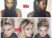 Lil Kims new face versus then