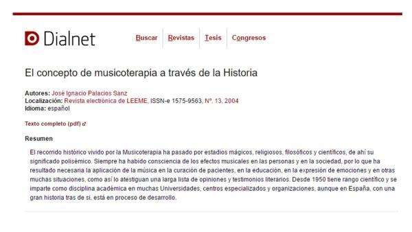Musicoterapia a través de la historia