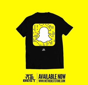 DJ Khaled Snapchat Shirt - T-shirt With DJ Khaled Snapcode