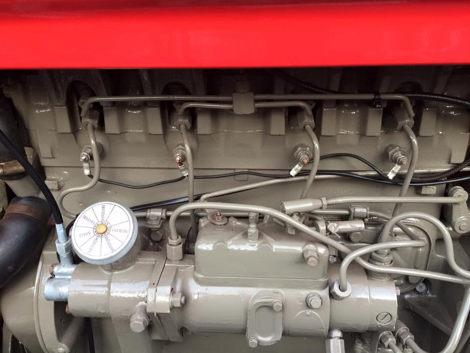 Massey Ferguson FE 35 4cyl heater plug conversion Otmoor Ironworks