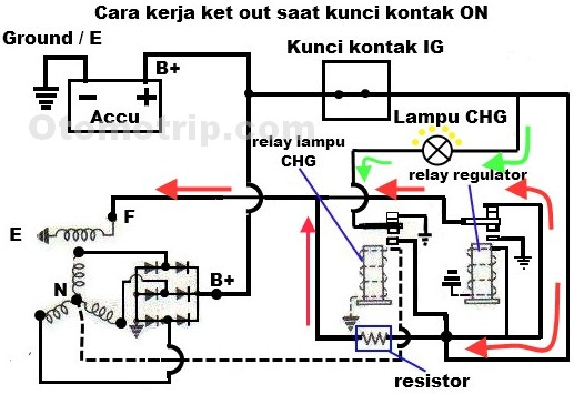 wiring diagram pengisian aki