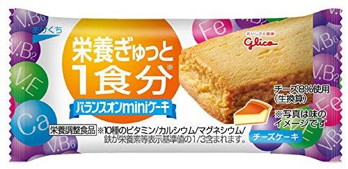 バランスオンminiケーキ チーズケーキ 1個(23g)