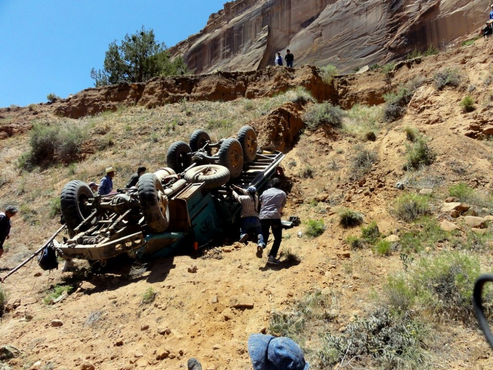 THE ACCIDENT AT CANYON DE CHELLY (1/6)