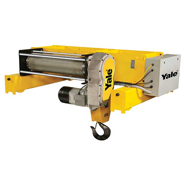 Yale Global King Top Running Trolley and Deck Hoist - Otsego Crane