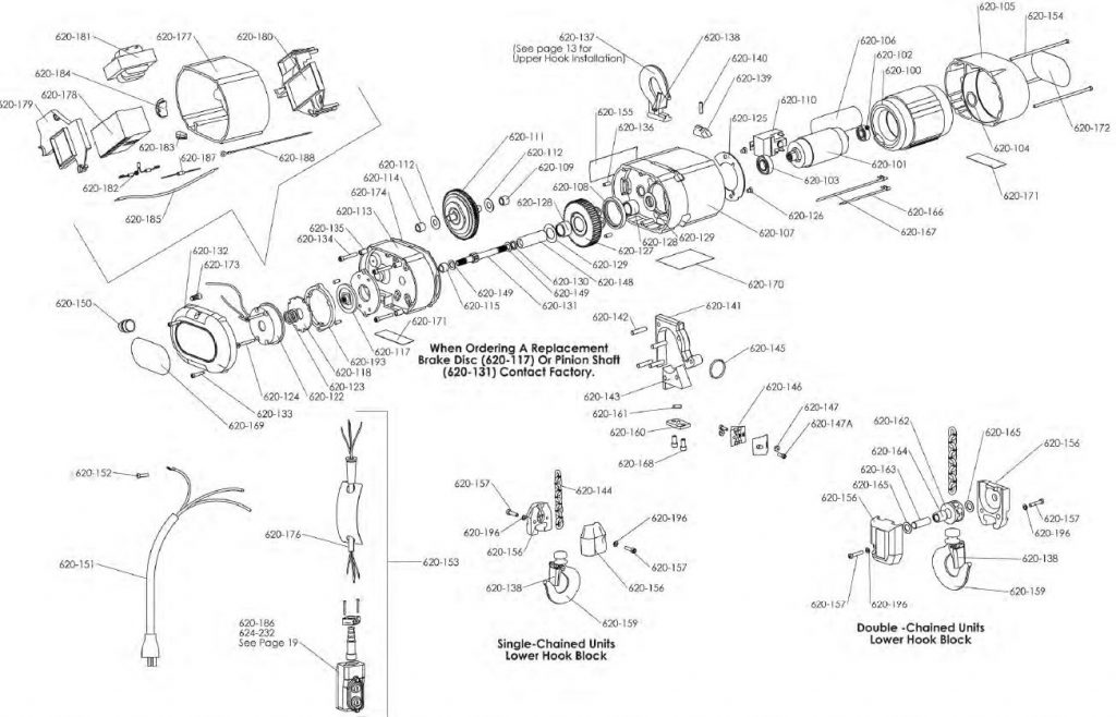 coffing 1 ton electric hoist wiring diagram on remote crane control