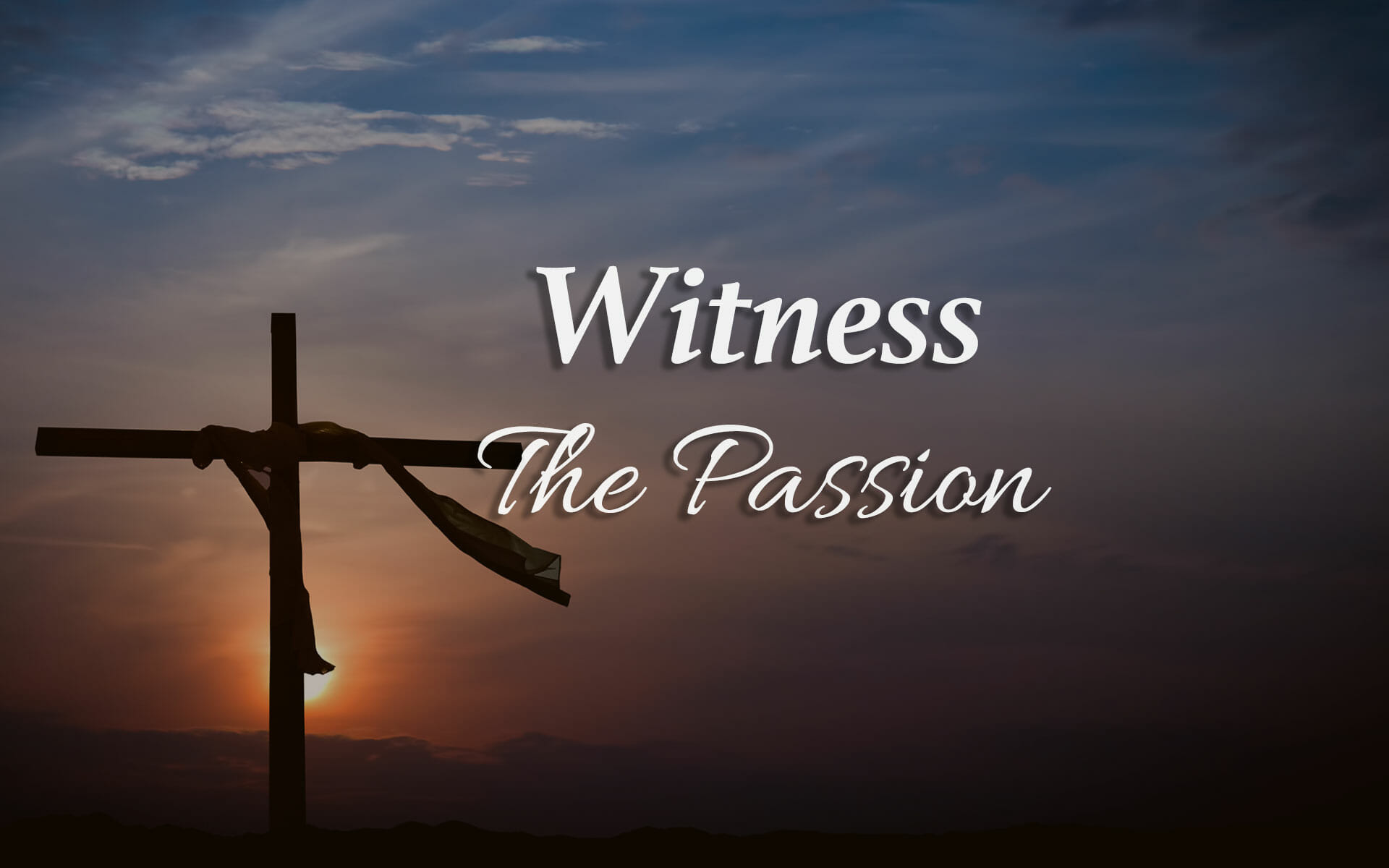 The Passion 2017 Witness The Passion Judas The Betrayer Ottawa Church Of