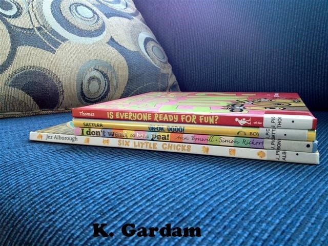 Books for ages 2-4
