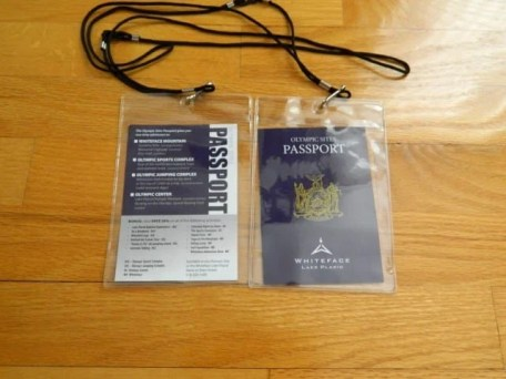 Lake Placid Olympic Passport