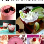 10 Very Cherry Drink Recipes for National Cherry Month!