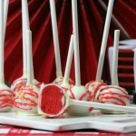 Canada Day Red Velvet Cake Pops Recipe