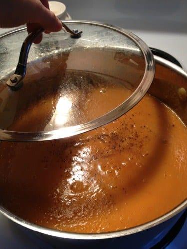 Soul-Warming Sweet Potato Salsa Soup