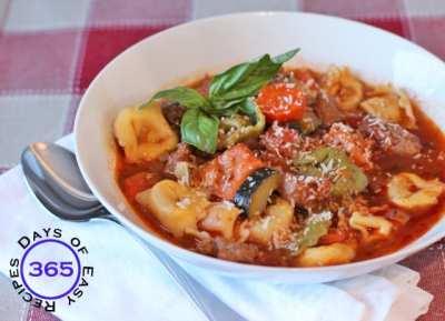 Tortellini Italian Sausage Soup