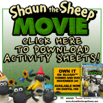 Shaun the Sheep Movie Activity Sheets‏